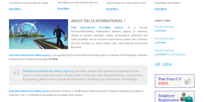 Delta International Website