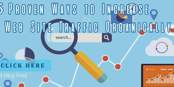 5 Proven Ways to Increase Your Web Site Traffic Organically